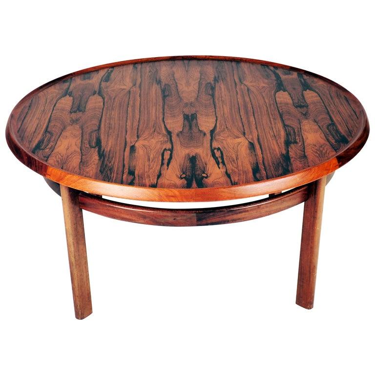Coffee Table in Rosewood by Torbjørn Afdal, Bruksbo, Norway