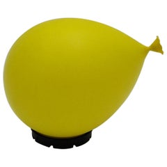 Yellow Balloon Lamp by Y. Christin, 1980s