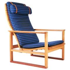 """Slædestolen"" BM-2254, Easy Chair by Børge Mogensen for Fredericia Stolefabrik"