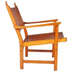 Caryngo, Lounge Chair by Carl Malmsten and Yngve Ekström