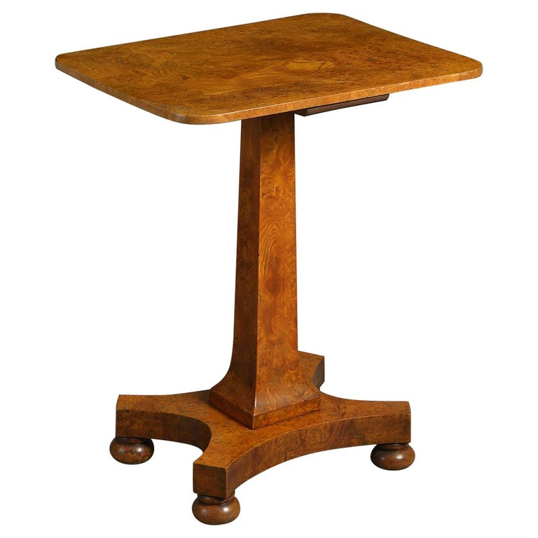 William IV Rectangular Elm Table