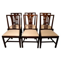 Set of Six Mid-18th Century Dining Chairs