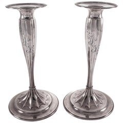 Sterling Tiffany Candlesticks