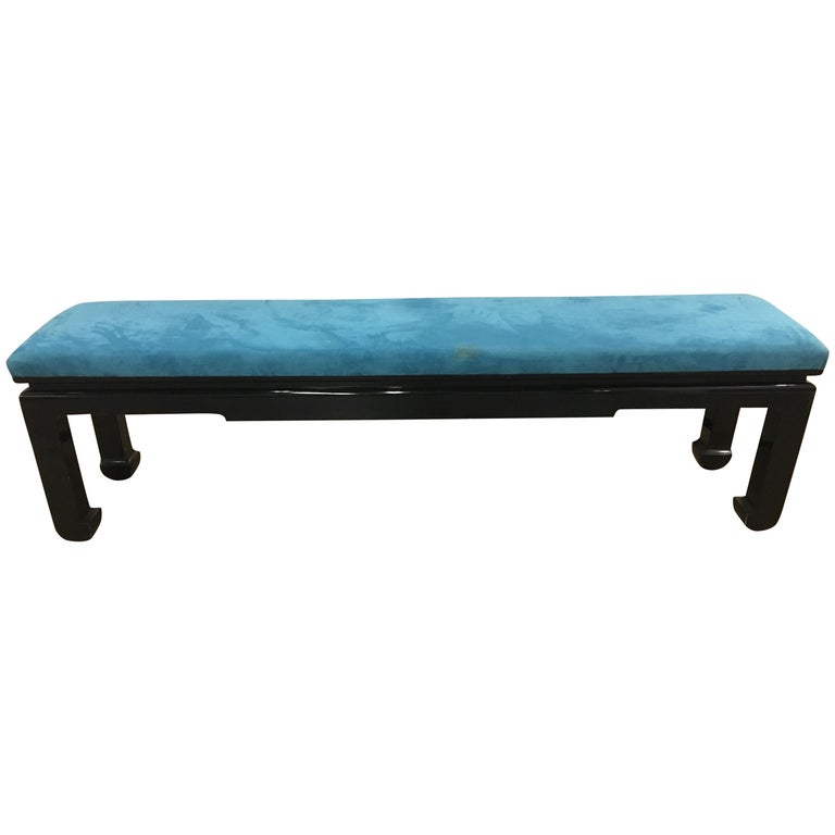 James Mont Bench Stool Settee