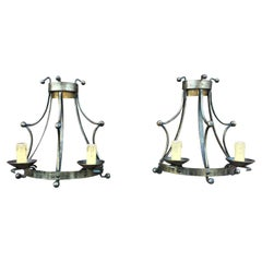 Pair of Sconces in the Style Art & Craft, circa 1950