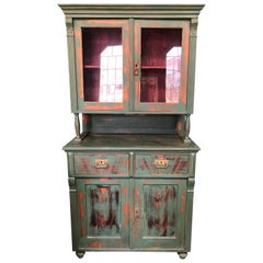 19th Century European Farm Hutch