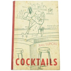 Jean Lupoiu Cocktails Book 1948 Edition