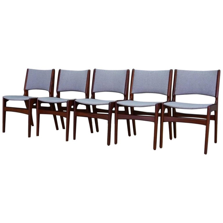 Johannes Andersen Chairs Retro Danish Design For Sale at 1stdibs