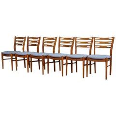 Midcentury Chairs Teak Danish Design Retro