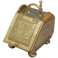Victorian Aesthetic Movement Coal Scuttle