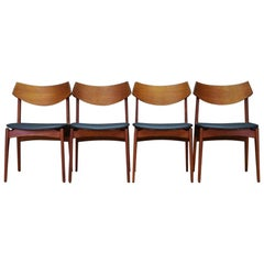 Funder-Schmidt & Madsen Chairs Teak Retro Vintage