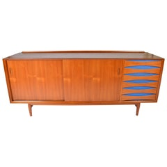 Model 29 Credenza in Teak designed by Arne Vodder for Sibast