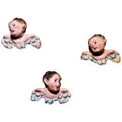 Three Little Terracotta Angels