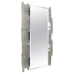 Mid-Century Modern Mirror with Acrylic Frame, 1970