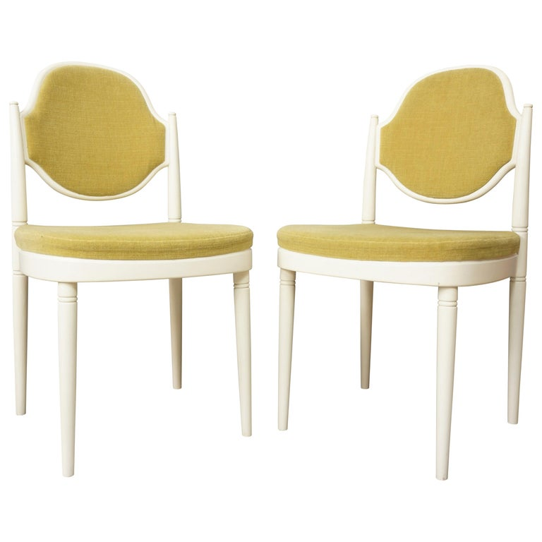 Pair of Bentwood Thonet Chairs Design Hanno Von Gustedt For Sale