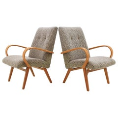 1960 Jitona Bentwood Lounge Chair