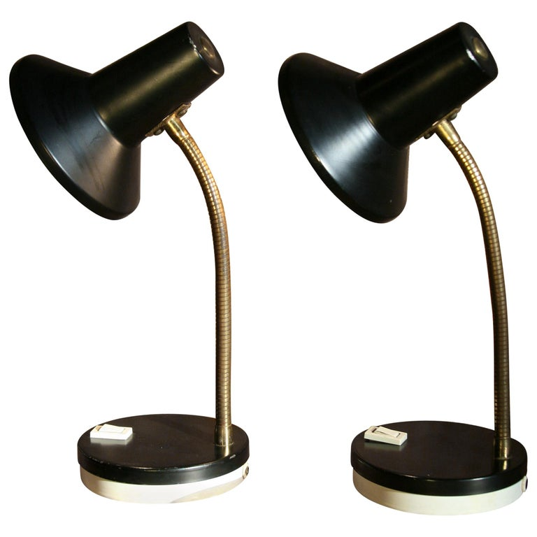1970s Pair of Table Lamps