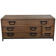 19th Century Low Japanese Sword Chest