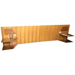 Gio Ponti Headboards, from Hotel Royal, Napoli, 1955, Set of Two