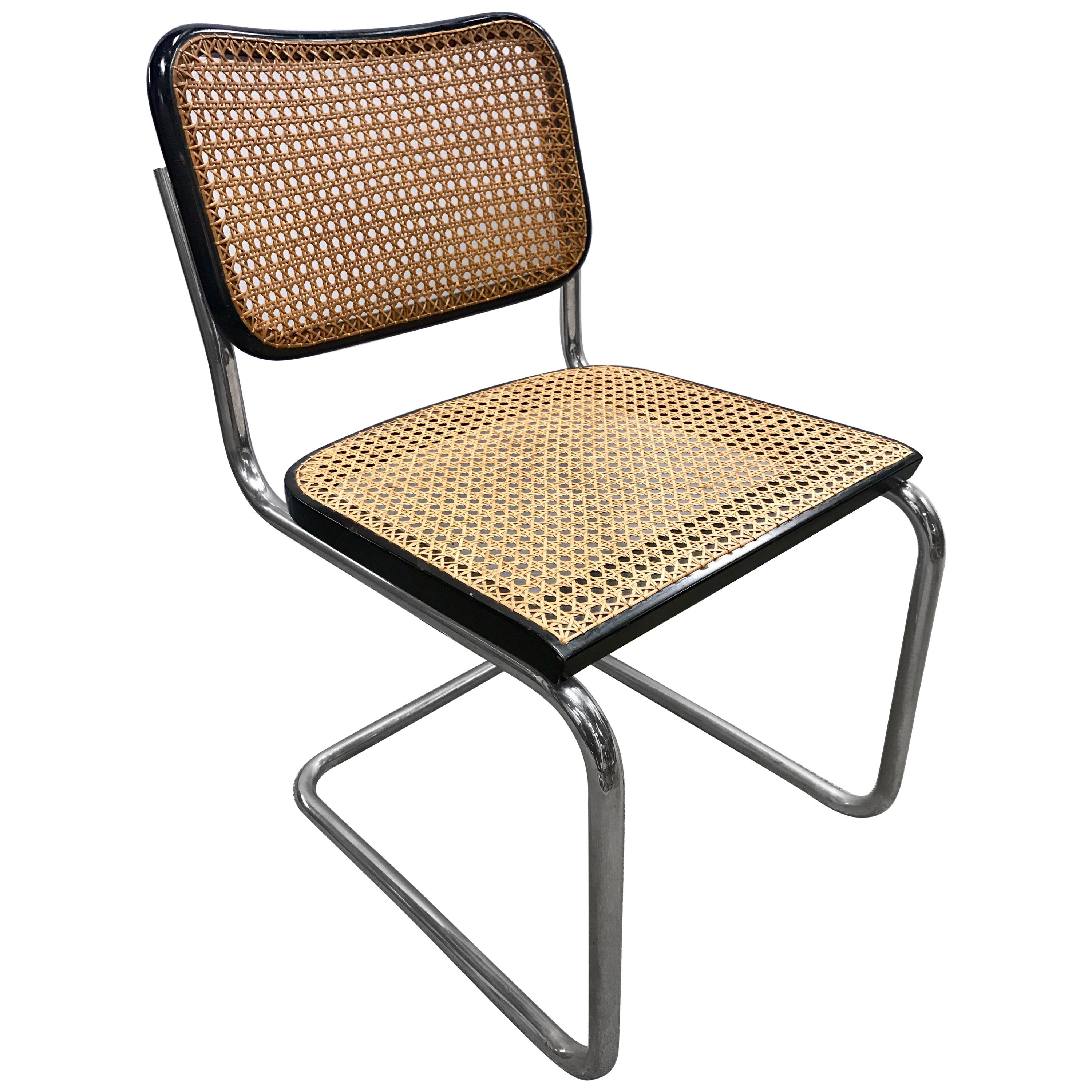 Signed Knoll Tubular Chairs Set Of Four Mid Century Modern Classic For Sale