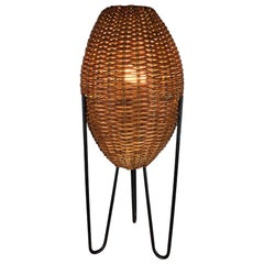 Paul Mayen Rattan Table Lamp