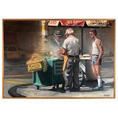 Richard Bunkall Acrylic Painting