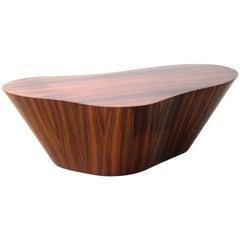 Contemporary Pau Ferro Wood Centre Table