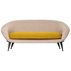 Folke Jansson Sofa Model Tellus by SM Wincrantz in Sweden