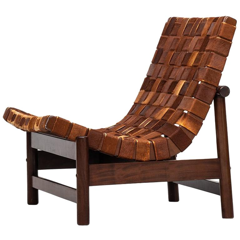 Gonzalo Cordoba Easy Chair Model Guama by Dujo in Cuba For Sale