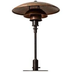 Poul Henningsen Table Lamp Model PH-3/2 in Copper by Louis Poulsen in Denmark