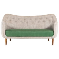 Finn Juhl Sofa Model Bo64 by Bovirke in Denmark