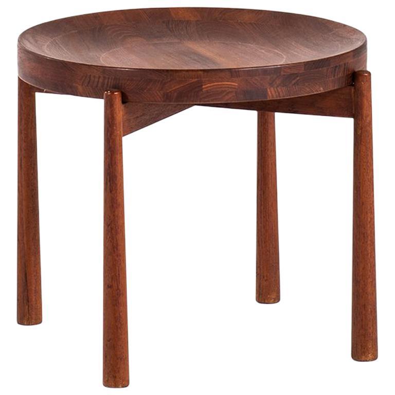 Jens Harald Quistgaard Side Table by Nissen in Denmark