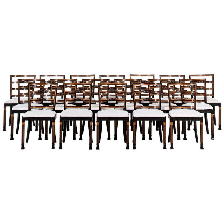 Erik Chambert Dining Chairs by Chamberts Möbelfabriker in Sweden