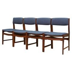 Retro Teak Chairs Danish Design, 1960-1970 Vintage