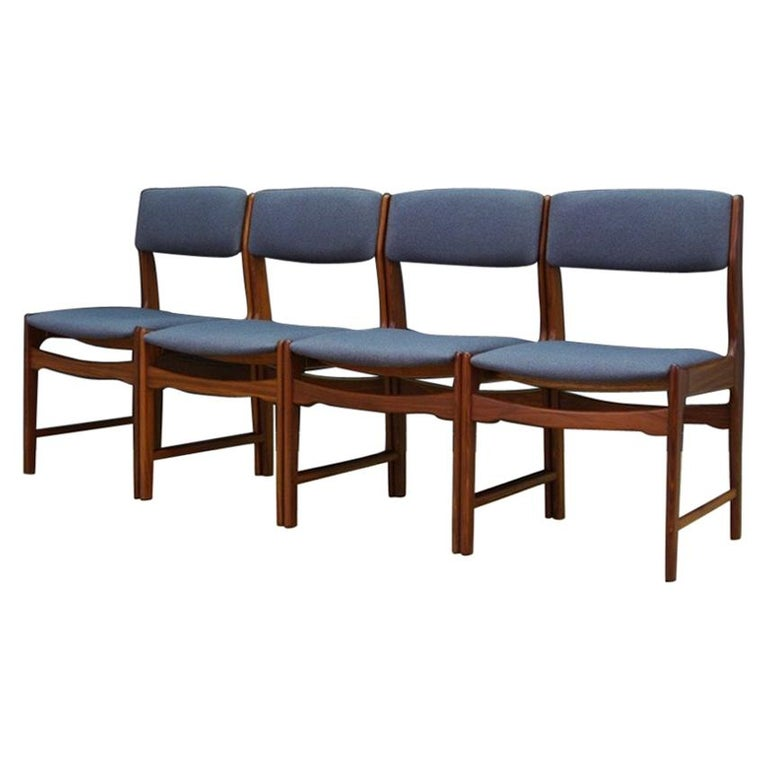 Midcentury Chairs Danish Design Retro Teak, 1960-1970 at 1stdibs