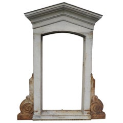 Early 20th Decorative Century Cast Iron Window Frames
