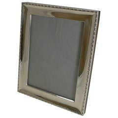 Quality Antique English Sterling Silver Photograph Frame by Deakin & Francis