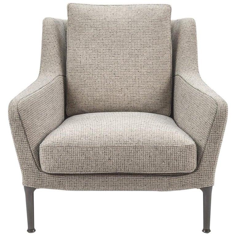 Edouard Lounge Chair with Back Cushion