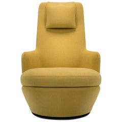 High Back Swivel Lounge Chair