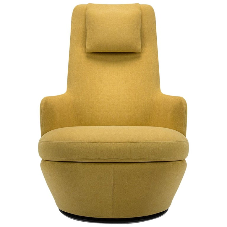 High Back Swivel Lounge Chair For Sale