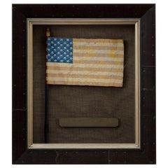 36-Star American Flag-Waver, 1876 Centennial Souvenir