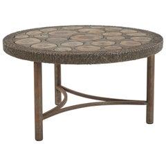 Brutalist Bronze Coffee Table