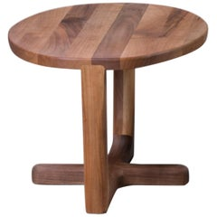 Armada Coffee Table Small, Contemporary Table in America Walnut Wood