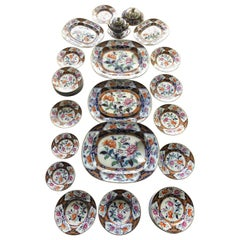 Part Ironstone Service in the 'Eugenie' Pattern, 'Pearl' Pottery, circa 1850