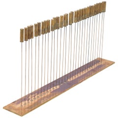 Bertoia Studio 30 Rod Sound Sculpture