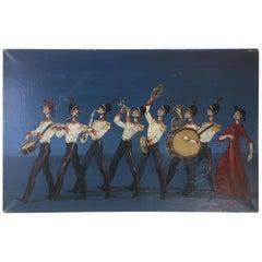 Oil on Canvus Painting School of Canevari