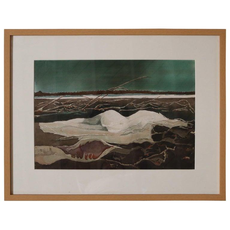 Shape of a Nude by David Segel For Sale
