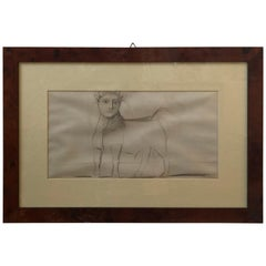 Lot of Five Anastatic Copies of Picasso's Guernica Sketches