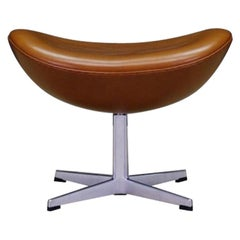 Arne Jacobsen The Egg Chair Footrest Danish Design
