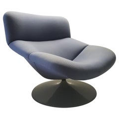 Swivel Lounge Chair F518 by Geoffrey Harcourt for Artifort 'Marked', 1979